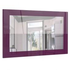 Miroir laqué haute brillance violet