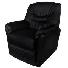 Fauteuil massant, relaxation,de massage noir