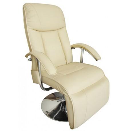 Fauteuil de massages et de relaxation beige