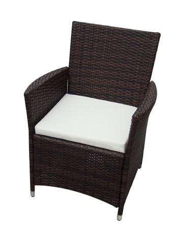 Salon de jardin en resine tressee brun for Tapis d entrée avec canapé 2 places résine tressée pas cher