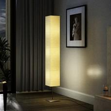 Lampe de salon sur pied alu 170 cm