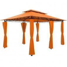 Tonnelle de jardin  4x3m Orange