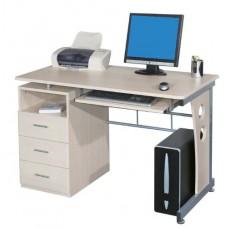 Bureau informatique 120 cm  couleur érable