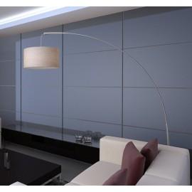 Lampe de salon en papier crème  210 cm