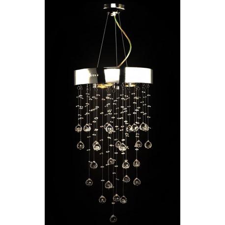 Lustre en cristal design 180 cristaux