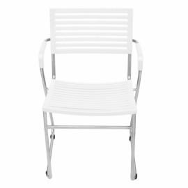 Ensemble de chaises design blanches