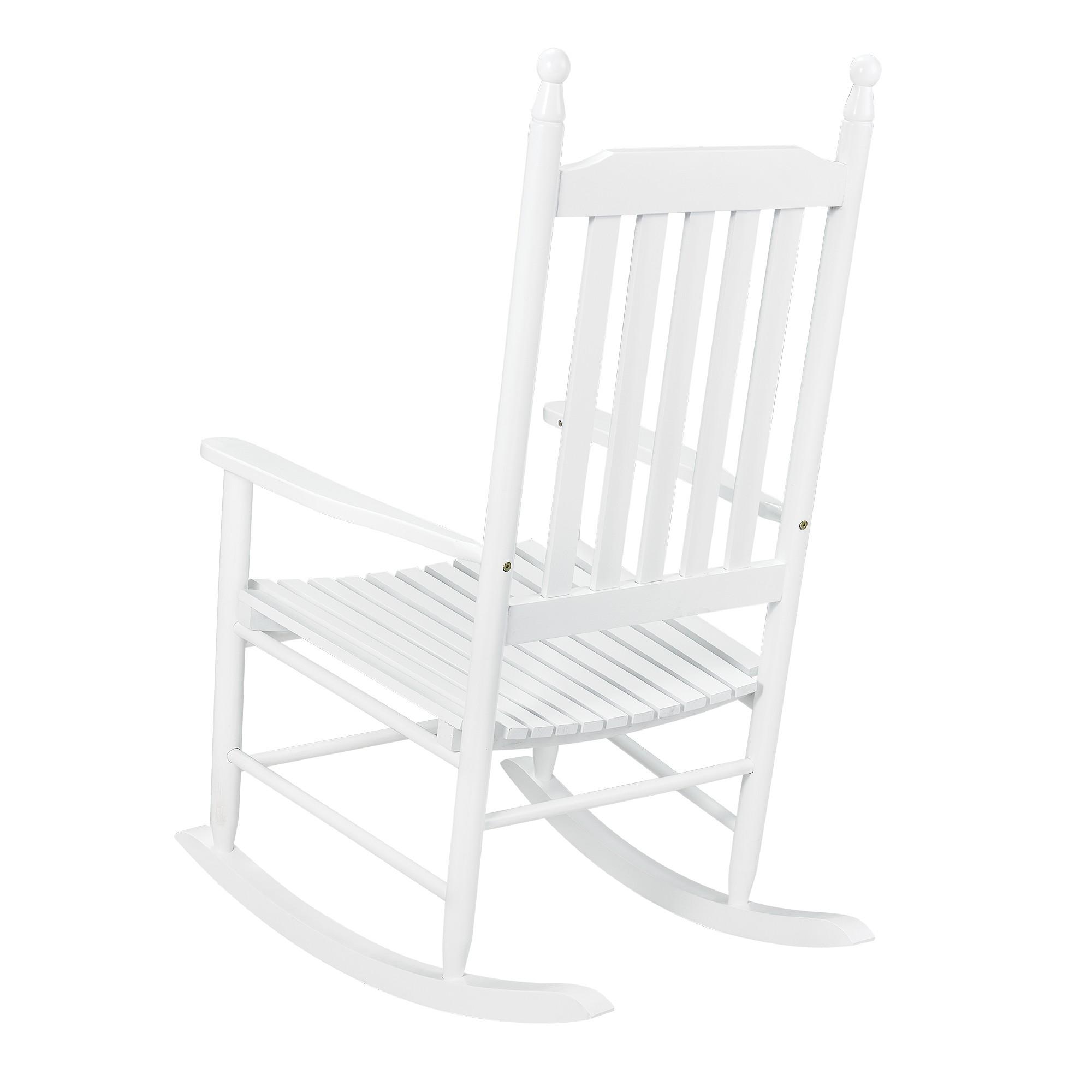 fauteuil bascule en bois massif. Black Bedroom Furniture Sets. Home Design Ideas