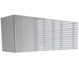 Colonne suspendue blanche mat + laquée 80  x 25 x 30 cm