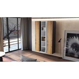 Ensemble de 3 meubles suspendus