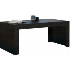Table basse 120 x 60 noir mat + noir brillant