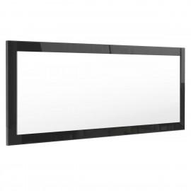 Miroir noir brillant (HxLxP): 139 x 55 x 2