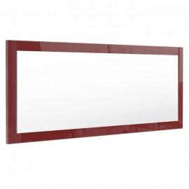 Miroir bordeaux  brillant (HxLxP): 139 x 55 x 2