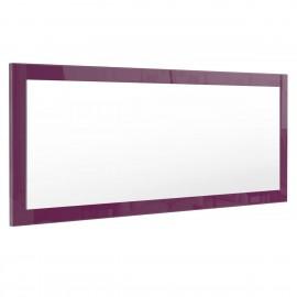 Miroir mûre  brillant (HxLxP): 139 x 55 x 2