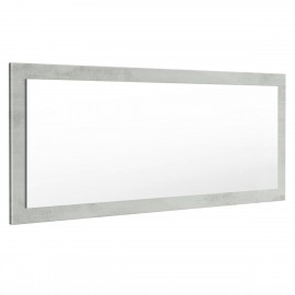 Miroir aspect béton mat  (HxLxP): 139 x 55 x 2