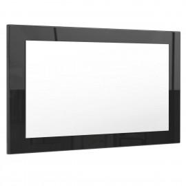 Miroir noir brillant (HxLxP): 45 x 89 x 2