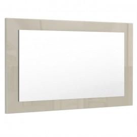 Miroir gris sable brillant (HxLxP): 45 x 89 x 2