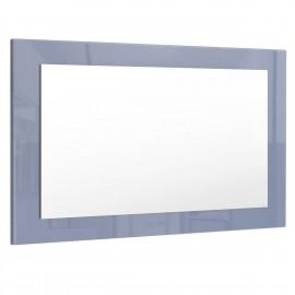Miroir gris  brillant (HxLxP): 45 x 89 x 2
