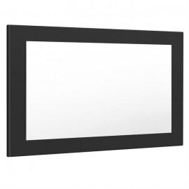 Miroir noir mat (HxLxP): 45 x 89 x 2