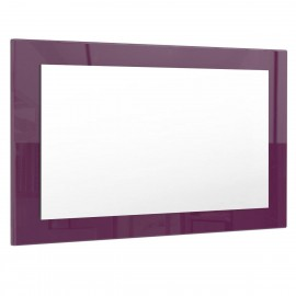 Miroir mûre brillant (HxLxP): 45 x 89 x 2