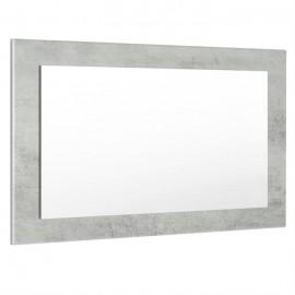 Miroir aspect béton mat (HxLxP): 45 x 89 x 2