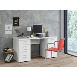 bureau blanc 110 x 75 x 50 cm (BxHxT)