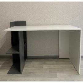 Table de travail blanche anthracite  120,6 x 84,3 x 56,8 cm (LxHxP)