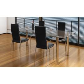Ensemble de 4 chaises design