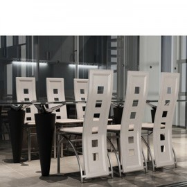 Chaises design blanches