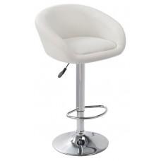 Ensemble  de 2 tabourets/chaises blanc