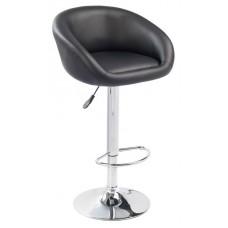 Ensemble de 2 tabourets/chaises noir