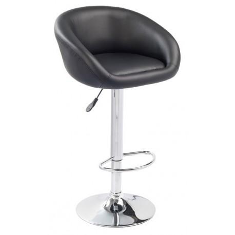 Lot de 2 tabourets/chaises noir