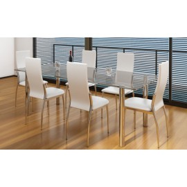 Ensemble de 6 chaises design
