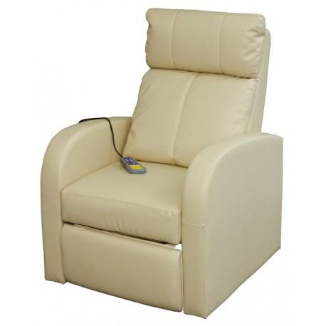 Fauteuil de massages et de relaxation crème