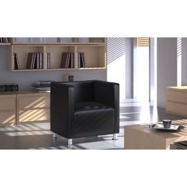 Fauteuil design club noir
