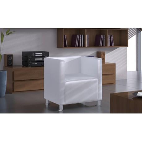 Fauteuil design club blanc