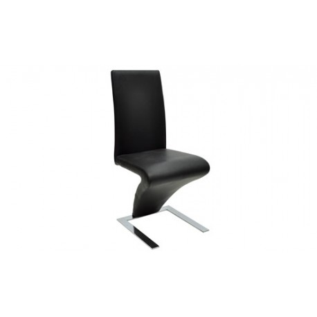 Chaise design Alexia noir