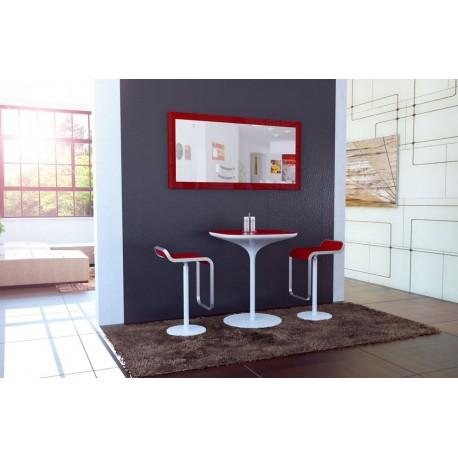 Miroir laqué Bordeaux 110 cm