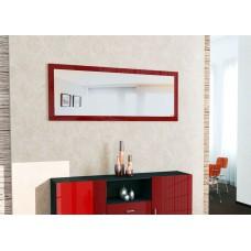 Miroir laqué Bordeaux 139 cm
