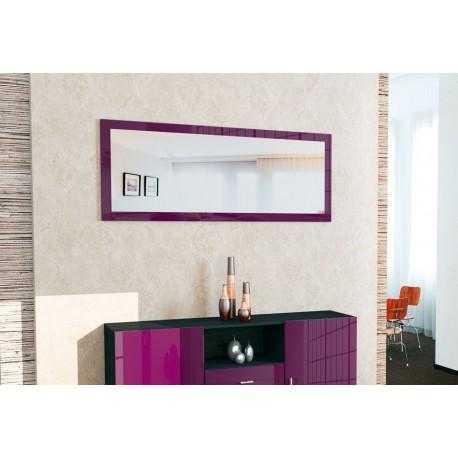 Miroir laqué Violet110 cm