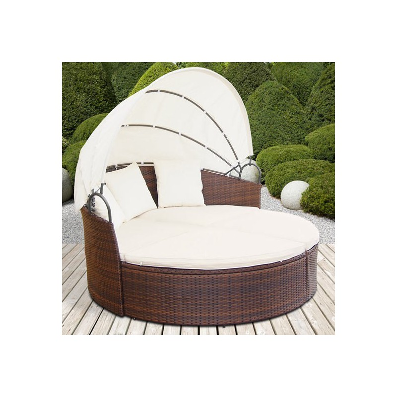 Emejing Salon De Jardin Lit Sofa Rond Modulable Photos - Awesome ...