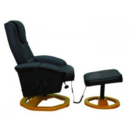 Fauteuil de massages avec repose pieds séparé