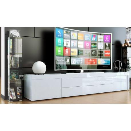Meuble bas pour tv blanc
