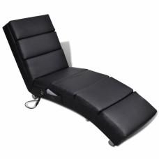 Chaise Massage  Fonctionnelle Pliable Noir
