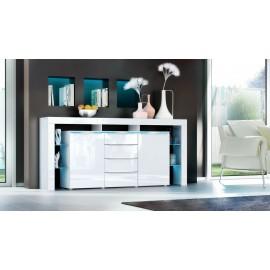 Buffet design blanc 192 cm