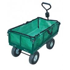 Remorque a main de transport jardin chariot max 350 KG